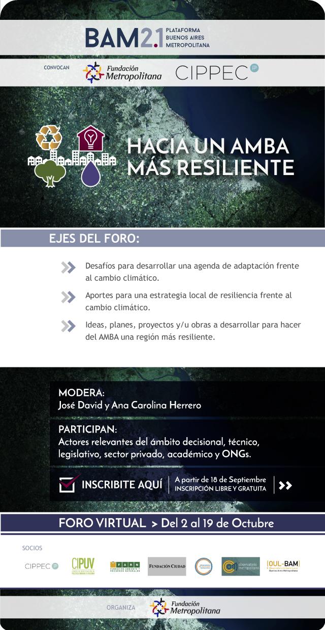 Hacia un AMBA más resiliente