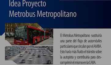 Metrobus Metropolitano AMBA RMBA FUNCACION METROPOLITANA BUENOS AIRES METROPOLITANA